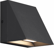 Tech 700WSPITSB-LED830 Pitch Modern Black LED Outdoor Wall Lamp