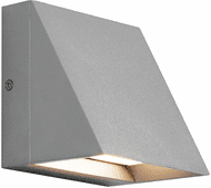 Tech 700WSPITSI Pitch Modern Silver Outdoor Sconce Lighting