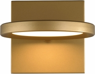 Tech 700WSSPCTG-LED930 Spectica Contemporary Satin Gold LED Wall Mounted Lamp