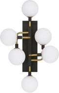 Tech 700WSVGOOR-LED930 Viaggio Modern Opal / Brass LED Sconce Lighting
