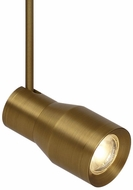Tech ACE-HEAD-AGED-BRASS Ace Contemporary Aged Brass LED Low Voltage Track Lighting Head