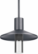 Tech ASH-12-PENDANT-CHARCOAL Ash Modern Charcoal LED Outdoor Hanging Lamp