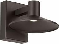 Tech ASH-8-WALL-BRONZE Ash Contemporary Bronze LED Outdoor 9.9  Sconce Lighting