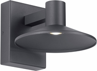 Tech ASH-8-WALL-CHARCOAL Ash Contemporary Charcoal LED Outdoor 9.9 Light Sconce