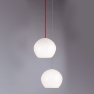 Tech Cleo Modern 9 Inch Diameter Medium Line-Voltage White Pendant Lamp