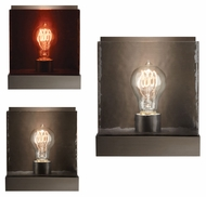Tech Corbel Classic 7 Inch Tall Modern Bare Bulb Wall Sconce Lighting