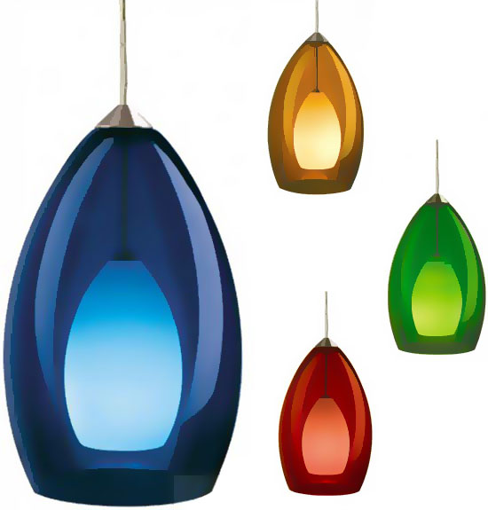 Tech Fire Low Voltage Halogen Art Gl Pendant Light