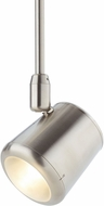 Tech Fokis Contemporary Satin Nickel LED Line Voltage Track Lighting Head