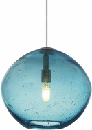 Tech MINI-ISLA-PENDANT-AQUA Mini Isla Contemporary Xenon Mini Pendant Light