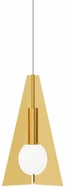 Tech MINI-ORBEL-PYRAMID-PENDANT Orbel Contemporary LED Mini Hanging Lamp