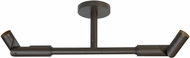 Tech MODE-DUAL-WALL-BRONZE Mode Contemporary Bronze LED Outdoor Lighting Sconce