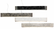 Tech Revel Linear Suspension 50 Inch Wide Contemporary Island Lighting Fixture - Fluorescent