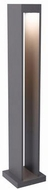 Tech Syntra Contemporary Charcoal LED Outdoor Bollard Landscape Lighting Design