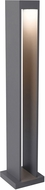 Tech SYNTRA-BOLLARD-CHARCOAL Syntra Modern Charcoal LED Outdoor Landscaping Light Bollard