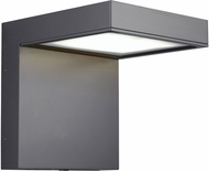 Tech TAAG-10-WALL-CHARCOAL Taag Contemporary Charcoal LED Outdoor 10.2 Wall Mounted Lamp