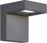 Tech TAAG-6-WALL-CHARCOAL Taag Modern Charcoal LED Outdoor 5.7  Wall Lighting Fixture