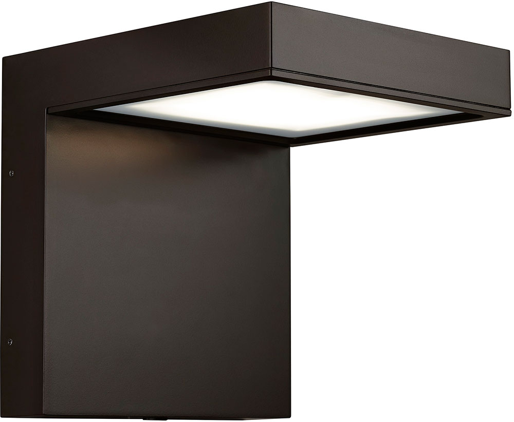 Tech Taag Contemporary Bronze Led Outdoor Wall Sconce Tch Taag