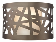 Tech Ventana Small 11 Inch Wide Contemporary Style Wall Sconce Lighting Fixture
