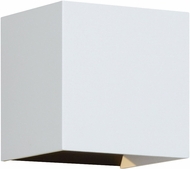 Tech VEX-5-WALL-WHITE Vex Modern White LED Outdoor Wall Lamp