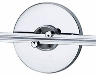 Tech WMO4INSRFCAN 4 Inch Round Wall Monorail Single Feed Canopy