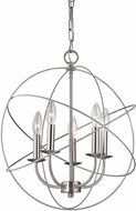 Thomas 1515CH-20 Williamsport Brushed Nickel Pendant Hanging Light