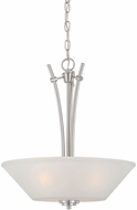 Thomas 190061217 Pittman Brushed Nickel Pendant Lighting