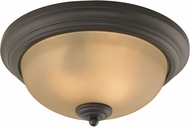 Thomas 7003FM-10-EEF Huntington Oil Rubbed Bronze Fluorescent Flush Mount Light Fixture