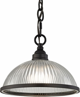 Thomas 7661PS-10 Liberty Park Oil Rubbed Bronze Mini Drop Ceiling Light Fixture