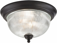 Thomas 7683FM-10 Liberty Park Oil Rubbed Bronze Home Ceiling Lighting
