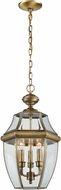 Thomas 8603EH-89 Ashford Traditional Antique Brass Exterior Pendant Lamp