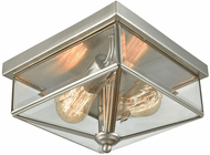 Thomas CE9202365 Lankford Brushed Nickel Exterior Ceiling Lighting