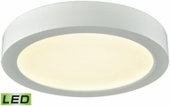 Thomas CL781034 Titan Contemporary White LED Ceiling Light Fixture