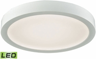Thomas CL781134 Titan Contemporary White LED Ceiling Light Fixture