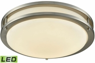 Thomas CL782012 Clarion Brushed Nickel LED Flush Mount Light Fixture