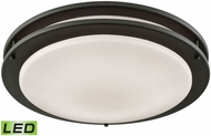 Thomas CL782021 Clarion Oil Rubbed Bronze LED Flush Mount Lighting Fixture