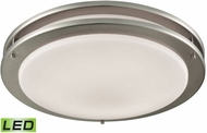 Thomas CL782022 Clarion Brushed Nickel LED Flush Ceiling Light Fixture