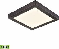 Thomas CL791331 Ceiling Essentials Modern Oil Rubbed Bronze LED Ceiling Light Fixture