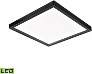 Thomas CL791531 Ceiling Essentials Contemporary Oil Rubbed Bronze LED 9.5  Flush Mount Light Fixture