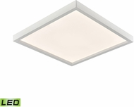 Thomas CL791634 Ceiling Essentials Contemporary White LED 13  Flush Ceiling Light Fixture