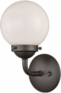 Thomas CN120121 Beckett Contemporary Oil Rubbed Bronze Wall Mounted Lamp