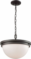 Thomas CN120281 Beckett Contemporary Oil Rubbed Bronze Hanging Pendant Lighting