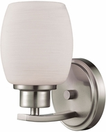 Thomas CN170172 Casual Mission Brushed Nickel Wall Sconce Light