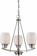 Thomas CN170322 Casual Mission Brushed Nickel Mini Ceiling Chandelier