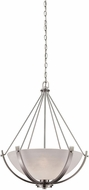 Thomas CN170342 Casual Mission Brushed Nickel Drop Lighting Fixture