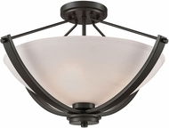Thomas CN170381 Casual Mission Oil Rubbed Bronze Ceiling Lighting Fixture