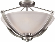 Thomas CN170382 Casual Mission Brushed Nickel Ceiling Light Fixture