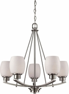 Thomas CN170522 Casual Mission Brushed Nickel Mini Chandelier Light