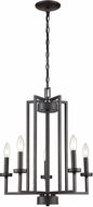 Thomas CN240521 West End Oil Rubbed Bronze Mini Lighting Chandelier