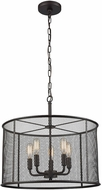 Thomas CN250541 Williamsport Modern Oil Rubbed Bronze Drum Lighting Pendant