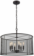 Thomas CN250641 Williamsport Modern Oil Rubbed Bronze Drum Pendant Lamp